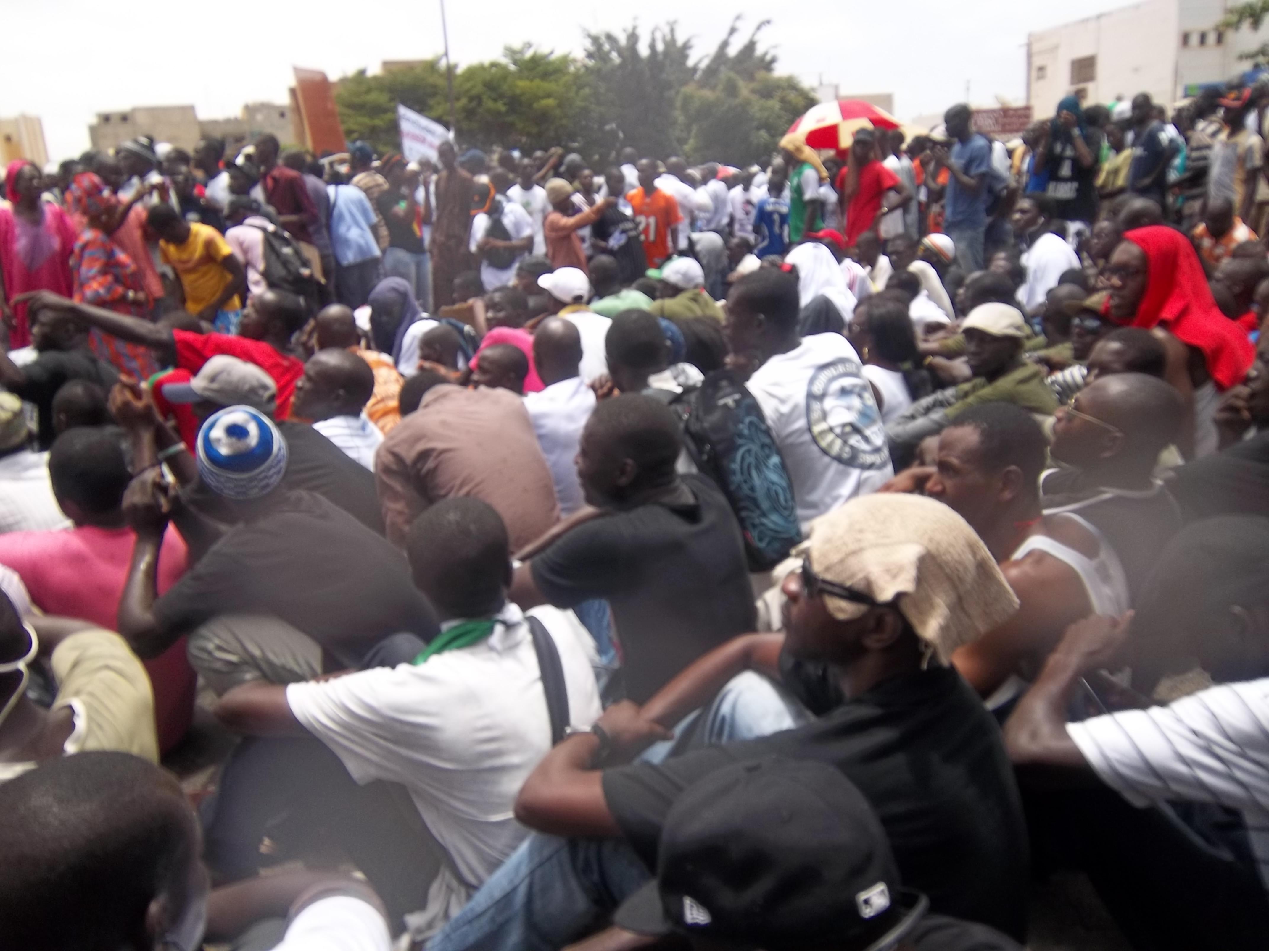 Yén a Marre Senegal  responsabilidad política y ciudadana