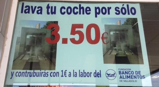 cartel heprasa colaboración banco de alimentos