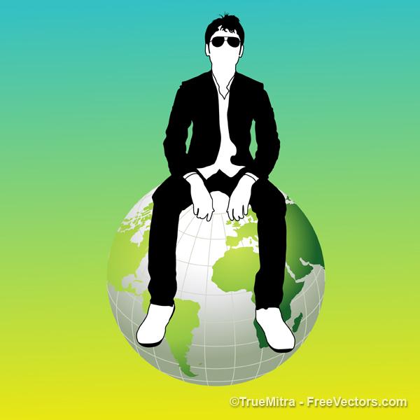 Businessman-on-Earth